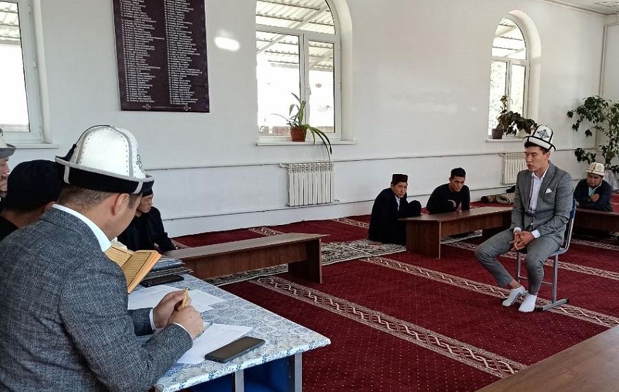 Таласта Куран жарышы өтүп, 9 талапкер өз күчтөрүн сынашты