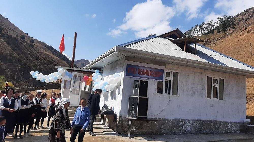 Араванда айыл имамынын демилгеси менен жаңы мектеп пайдаланууга берилди