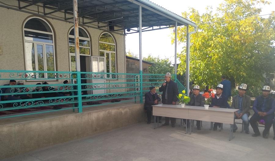 Жалал-Абад облусунун Сузак районунда кыз-келиндер үчүн  диний окуу жай ачылып, колдонууга берилди